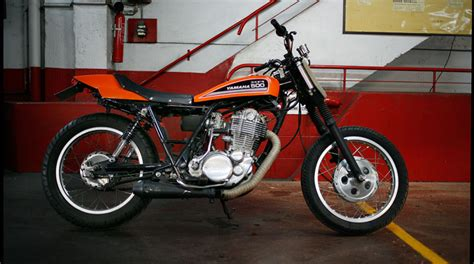 Yamaha 500 Sr 'dirt Track'