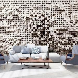 Die attraktive wandgestaltung 3d tapeten for Markise balkon mit 3d tapeten design