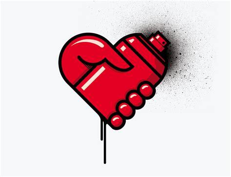 Graffiti Love :  Love Graffiti Love