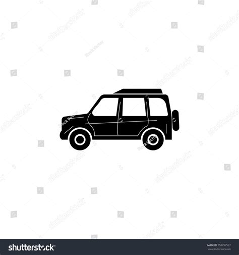 Four Wheel Drive Car Car Type Stock Illustration 758297527