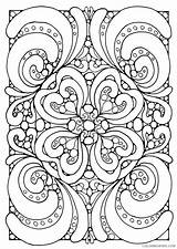 Mandala Square Coloring Printable Coloring4free Adult Getdrawings Adults Getcolorings sketch template