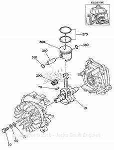 Robin  Subaru Ec03 Parts Diagram For Crankshaft  Piston  Ec03er