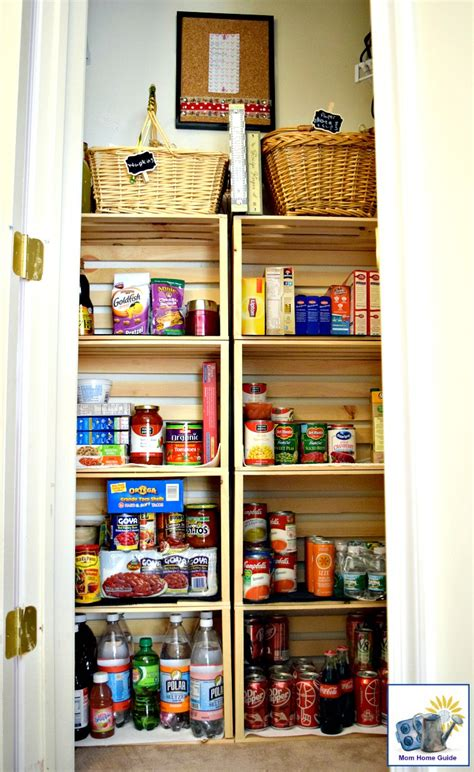 Kitchen Closet coat closet to kitchen pantry reveal momhomeguide