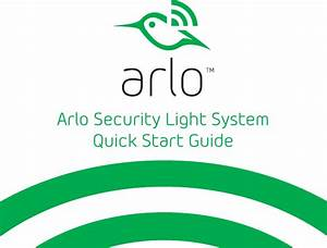 17300395 Users Manual Arlo Security Light System Quick