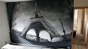 Tour Eiffel Deco : deco graffiti timelapse tour eiffel by ur 78 youtube ~ Teatrodelosmanantiales.com Idées de Décoration