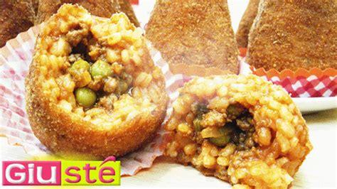 cuisine sicilienne recette arancinis au ragoût recette sicilienne giusté cuisine