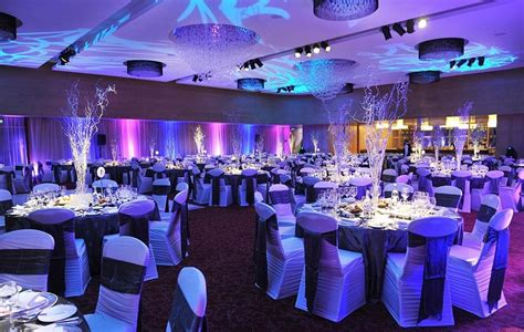 sparkling winter theme   decor    gala
