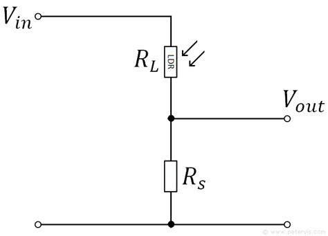 Voltage Divider Circuit Calculator For Ldr