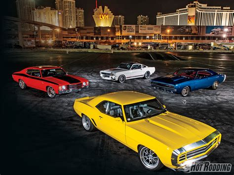 17 Muscle Cars From Sema