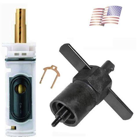 replace moen kitchen faucet cartridge moen 1224 cartridge valve replacement faucet repair with