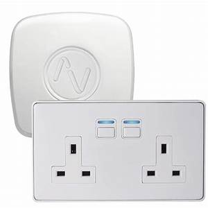 White 2 Gang Lightwave Jsjslw270wh Lw270wh Connect Series