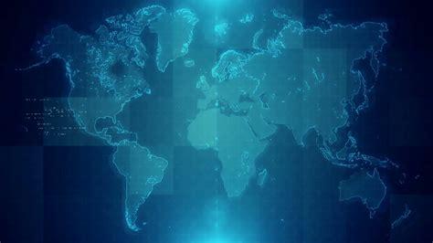 World Background Background With Animated World Map Motion