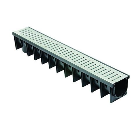 Clark drain Polypropylene Channel & Galvanised Grate