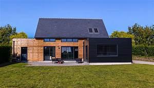 maison cube en bois 28 images constructeur de maisons With plan de maison cubique 3 maison bois cubique 224 toit plat nos maisons ossatures bois