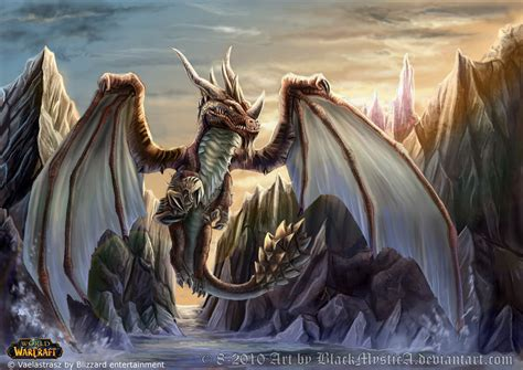Wallpaper World Of Warcraft World Of Warcraft Vaelastrasz By Felisglacialis On Deviantart