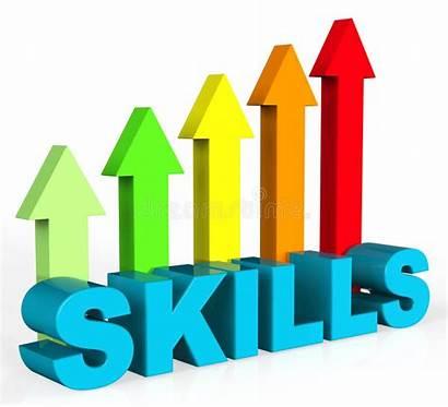 Skills Improve Improvement Clipart Abilities Plan Illustration