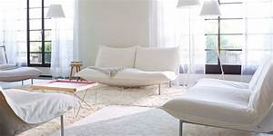 Canape blanc notre shopping completement design marie for Nettoyage tapis avec canape blanc cuir design