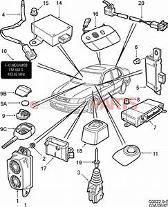 5265335 saab transmitter genuine saab parts from With saab key diagram