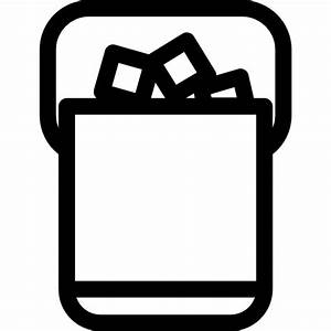Ice Cubes Bucket - Free other icons