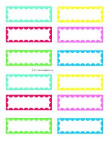 4 best images of free blank printable labels free