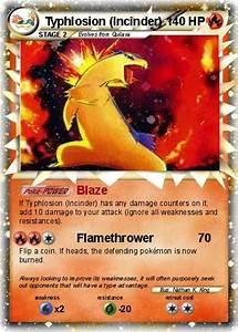 Pokémon Typhlosion Incinder - Blaze - My Pokemon Card