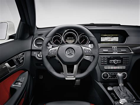 Mercedes c63 amg black series, the $100,000 showdown: 2012 Mercedes C63 AMG Coupe Interior - | EuroCar News