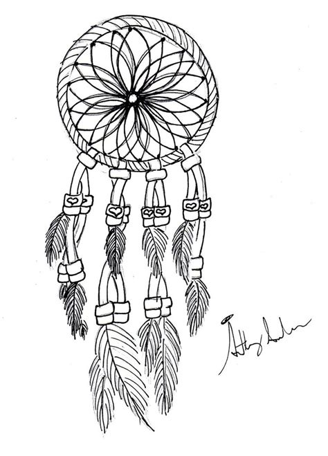 dreamcatcher coloring page getcoloringpagescom
