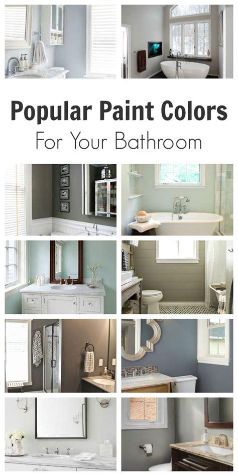 popular bathroom paint colors pinterest beautiful