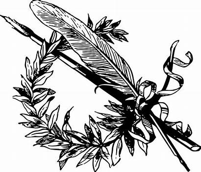 Clipart Clip Drawing Feathers Feather Svg Branch