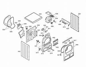Bosch Dryer Parts Diagram