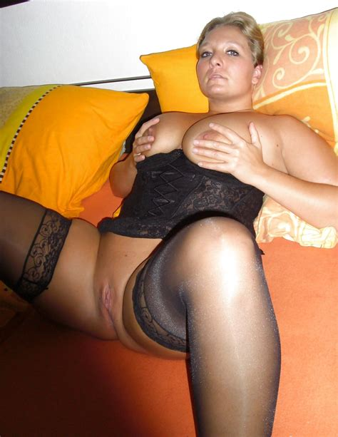 Russian Amateur Milfs In Stockings And Fishnets