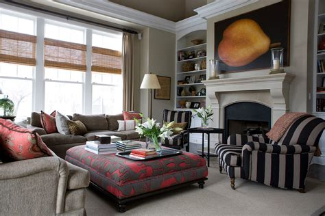 Living Room Trays : Amazing Ottoman Trays Decorating Ideas