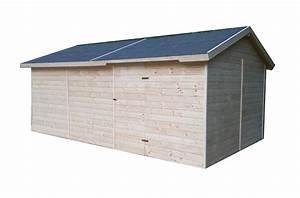 Garage Aus Holz : carports und garagen garage aus holz 3 3x5 3m 19mm cadema g nstigste gartenh user und ~ Frokenaadalensverden.com Haus und Dekorationen