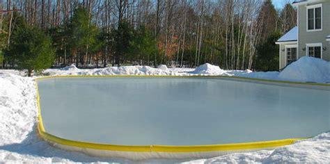 Best Backyard Hockey Rinks by Build The Backyard Rink Without Any
