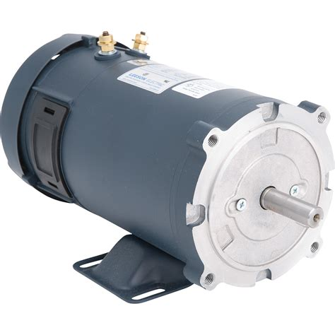 12v Electric Motor by Leeson 12 Volt Dc Electric Motor 3 4 Hp 1 750 Rpm 58