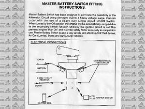 wiring a fia master switch With wiring a battery master switch