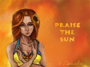 Praise the sun ( Poolparty Leona) by Zenilla94 on DeviantArt