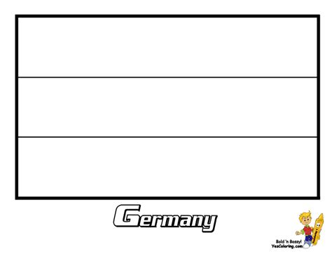 Wholesale Line Sheet Template German Flag Coloring Page