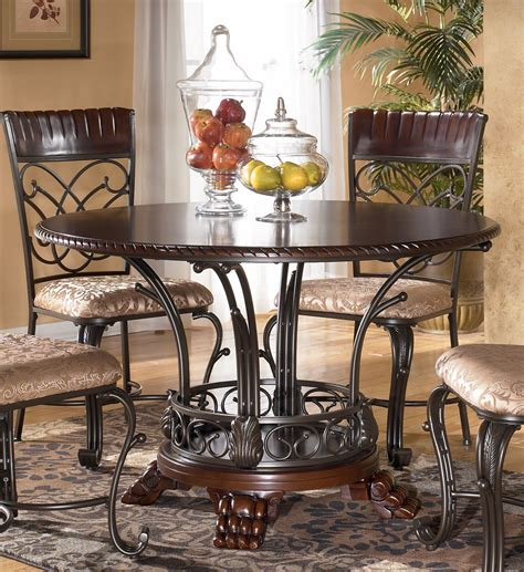 ashley furniture dinner tables ashley furniture glass dining table