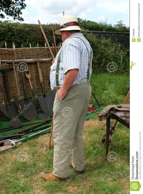 Overweight Farmer Stock Photo - Image: 1438390