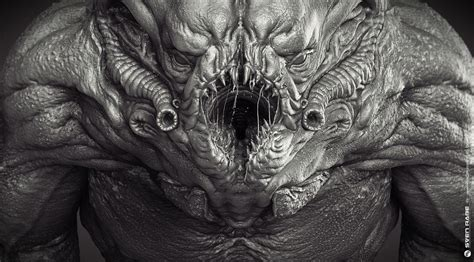 Creature Breakdown by Sven Rabe - zbrushtuts
