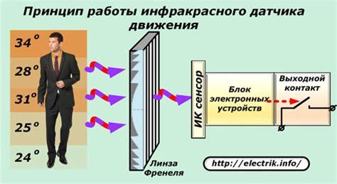 Датчик движения виды принцип работы как выглядит схема устройство