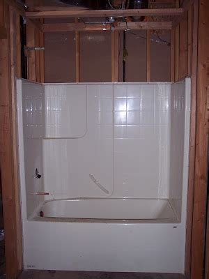 building  home tub shower installation requires