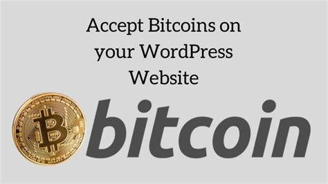 The most popular companies accepting bitcoin payments worldwide today are customers can pay in bitcoin, dash, litecoin, ethereum, and tether. Accept Bitcoin Payment on your WordPress Website.