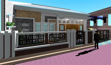 Kos buat pagar rumah desainrumahid. Gambar Pagar Rumah Minimalis Modern Terbaru