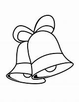 Bells Bell Christmas Coloring Pages Printable Drawing Colouring Number Clipart Cliparts Sheets Template Library Templates Preschool Sketch Drawings Clip Holiday sketch template