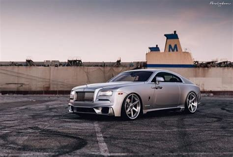 Custom-bodied Rolls-royce Wraith On Brixton Forged Wheels