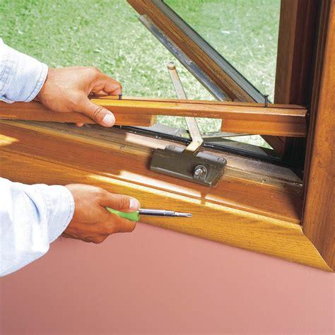 replace  casement window crank operator family handyman