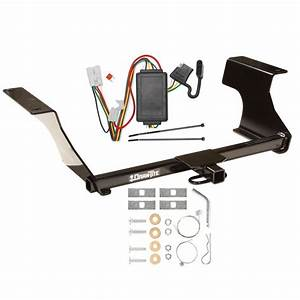 Trailer Hitch W   Wiring Harness Kit For 09
