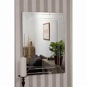 Detailed, Venetian, Frameless, Wall, Mirror